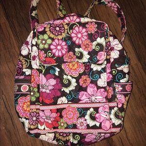 Vera Bradley Floral Backpack